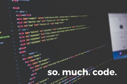 So. Much. Code.