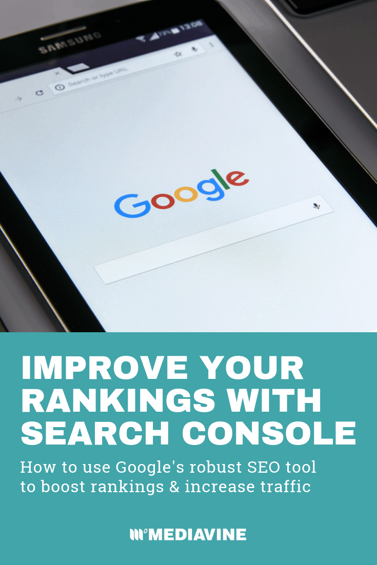Improving Rankings with Google Search Console Search Analytics