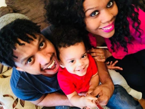 Latasha with her family