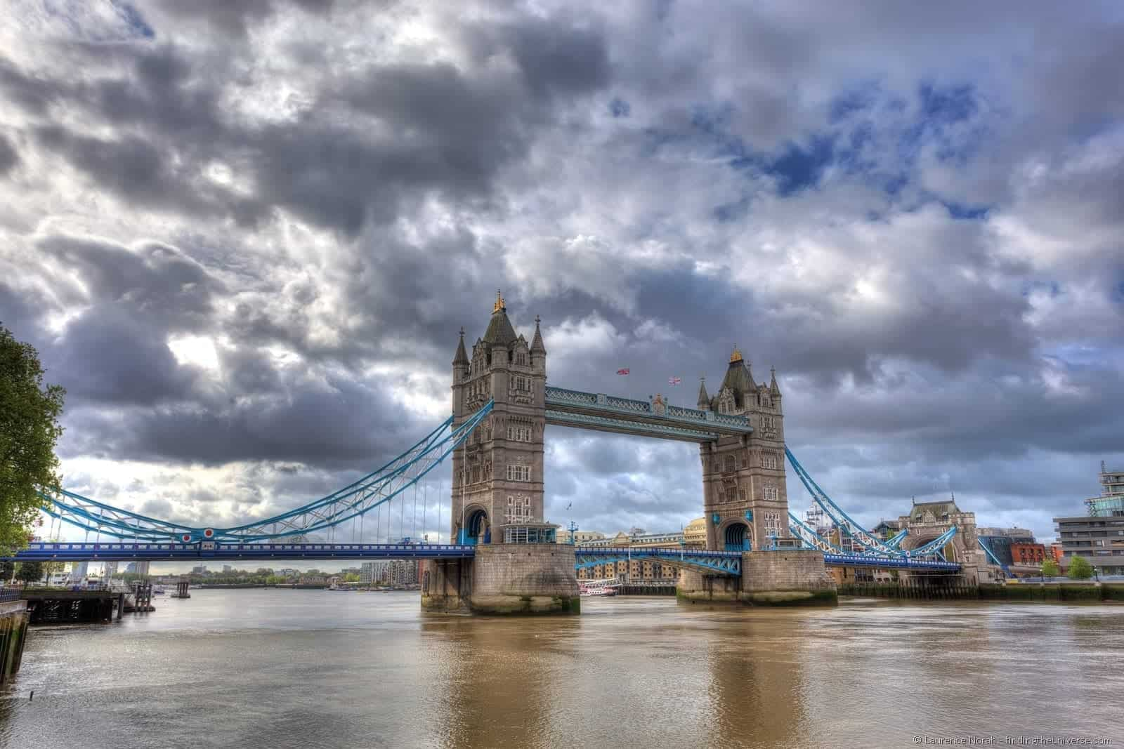 A photograph of London Bridge.