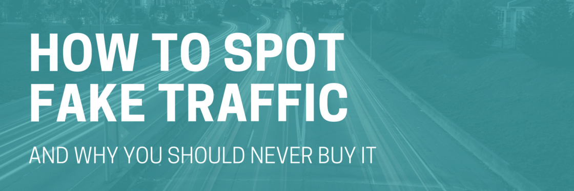 FAKE TRAFFIC: HOW TO SPOT IT