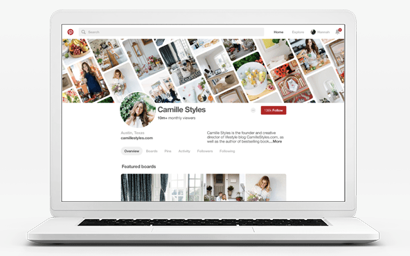 Pinterest's latest profile updates provide more customization. Great for attracting new followers!