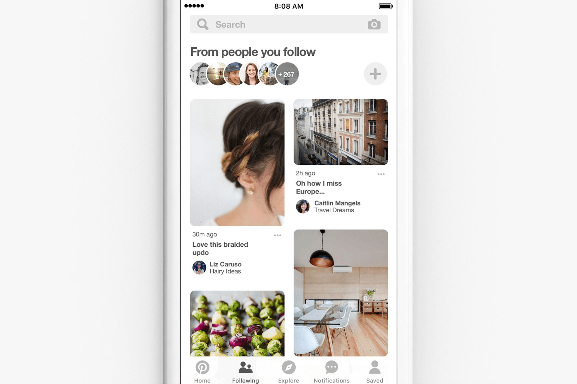 Pinterest now offers a Following Feed. It's like a beta group for your content!