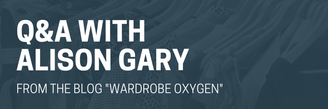 Q&A with Alison Gary of Wardrobe Oxygen