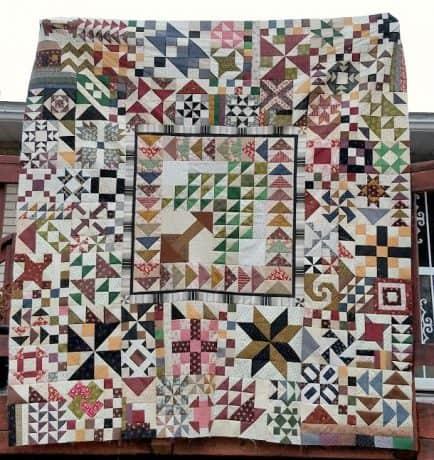 Patchwork Posse Sampler Quilt Top