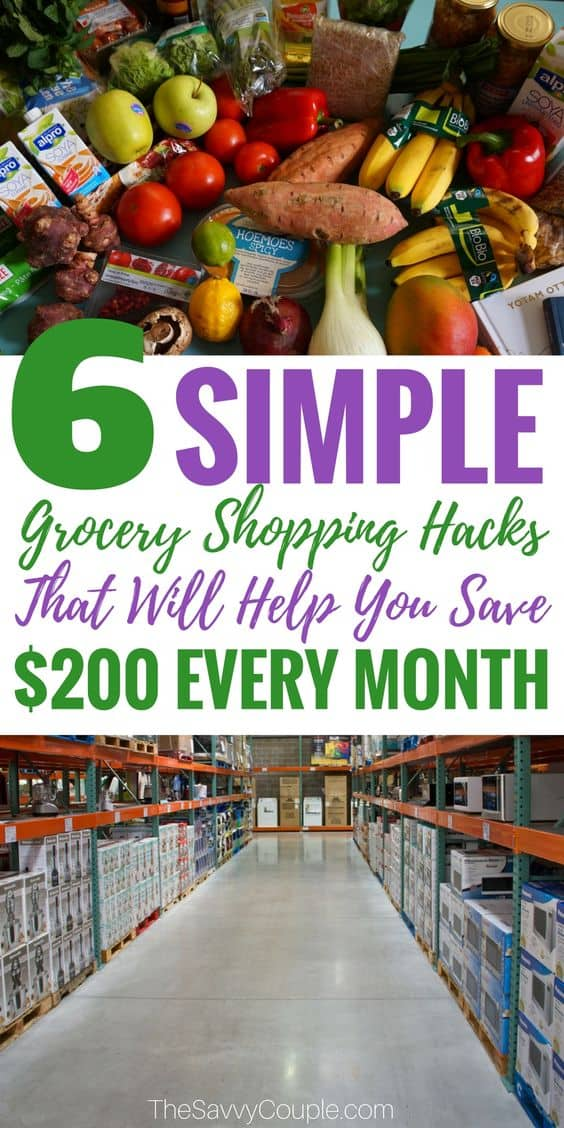Grocery Shopping Hacks The Savvy Couple