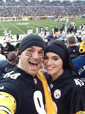 The Savvy Couple Steelers Fans