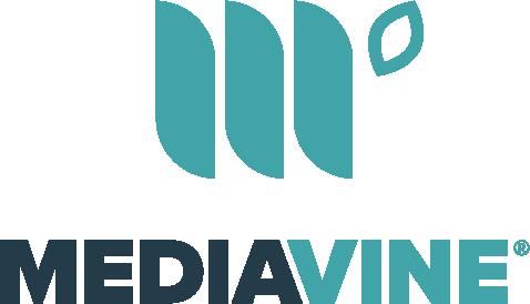 Mediavine logo in teal and navy.