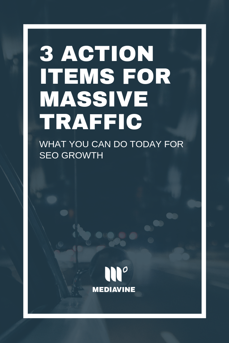 Ready for an amazing Q4?! Don't miss this post on the #Mediavine blog from traffic guru @WhatMommyDoes. She's sharing 3 of her favorite strategies for massive traffic growth. It is one post full of actionable items that you definitely don't want to miss! | Mediavine