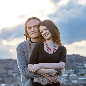 Laurence and Jessica Norah