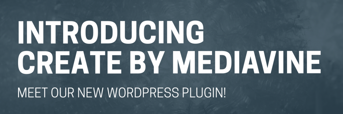 Create by Mediavine WordPress plugin