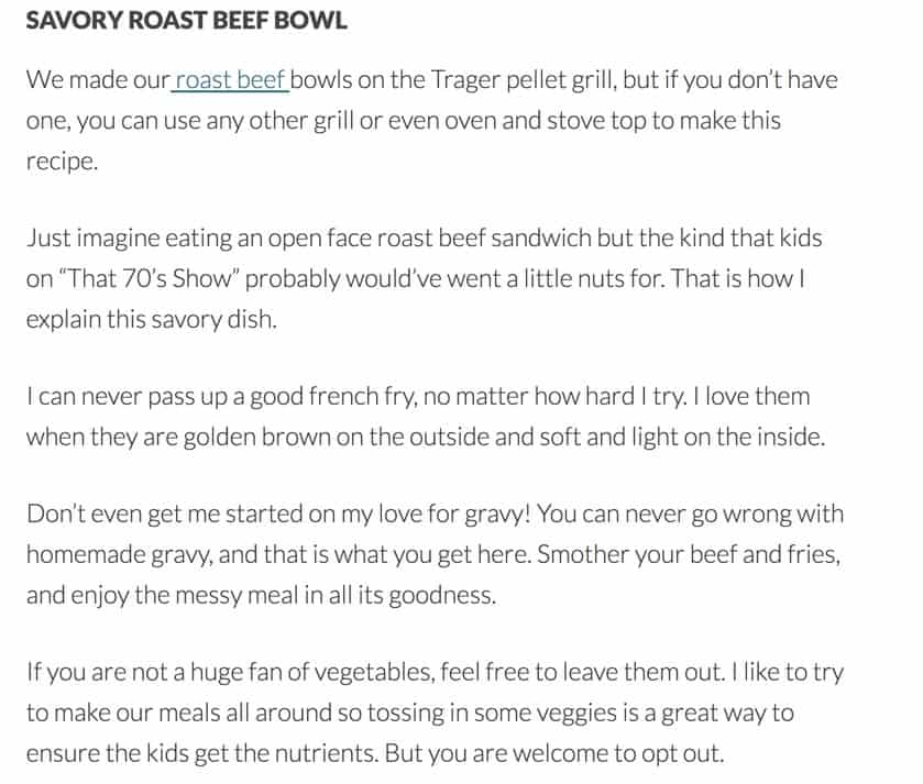The copy from the original blog post, now split up into 2-3 sentences per paragraph.