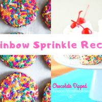 A List Of 50 Rainbow Sprinkles Recipes