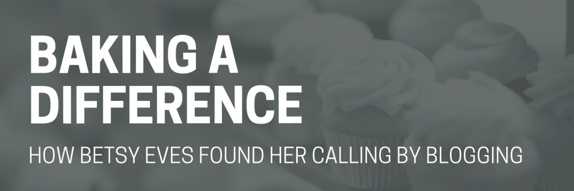 Baking a Difference: How A Publisher Found Her Calling in Blogging