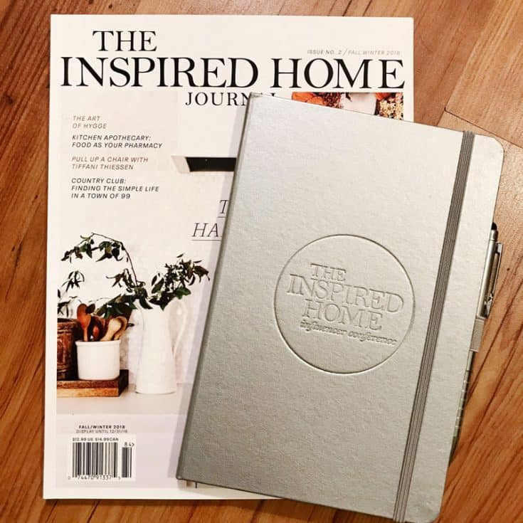 The Inspired Home Journal.