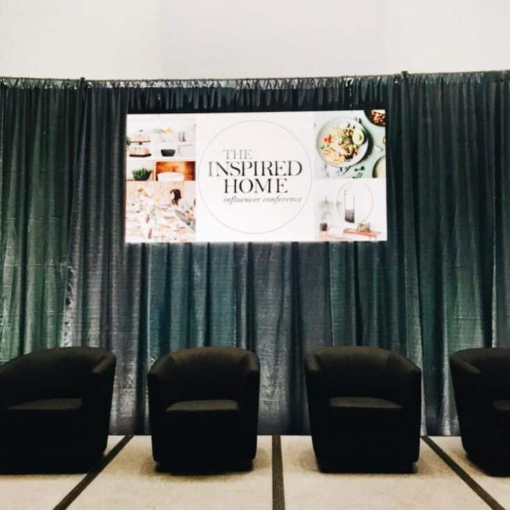 The stage lineup at Inspired Home Conference.