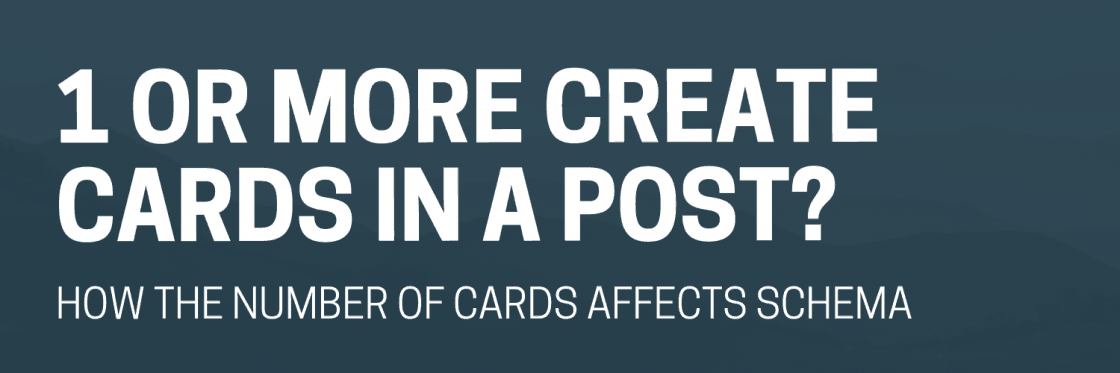 Multiple Create Cards in One Post: Best Practices For