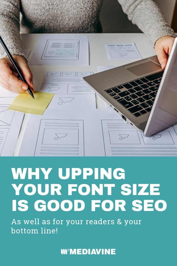 Why Upping Your Font Size is Good for SEO | Mediavine