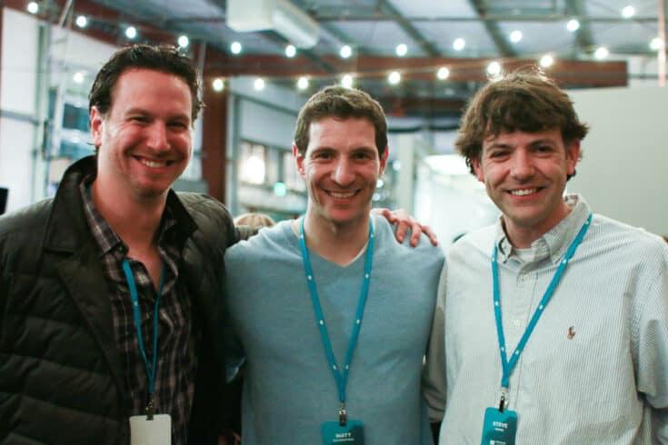 Mediavine cofounders Eric Hochberger, Matt Richenthal and Steve Marsi.