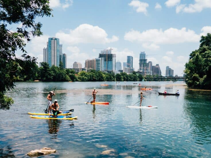 Row Out on Lady Bird Lake