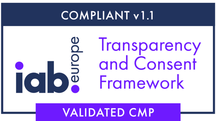 Compliant v 1.1 - iab Europe Transparency and consent framework - Validated CMP