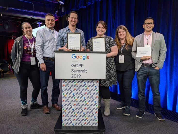 Mediavine team accepts 2 Google Certified Publishing Partner Awards in 2019