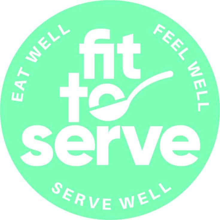 Fit to serve logo