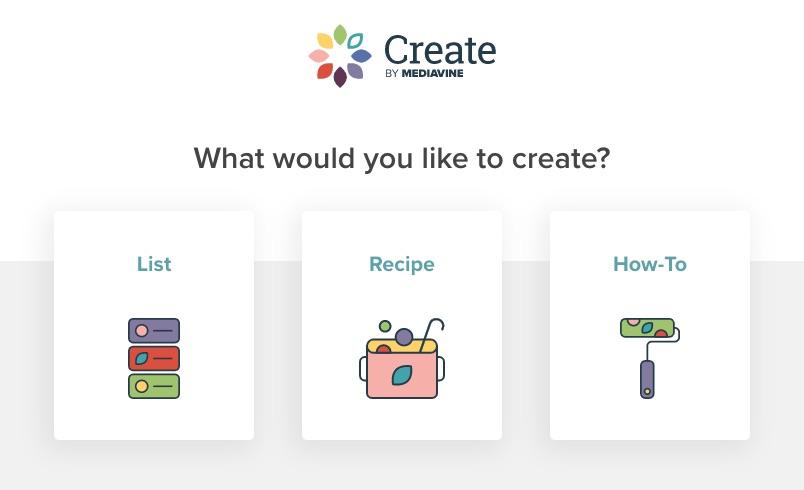 create card options