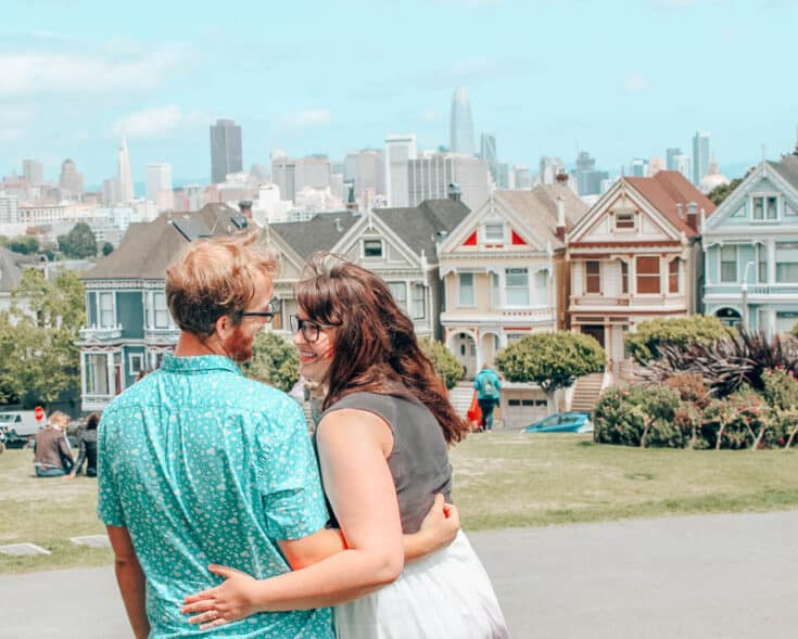 Lia Garcia visits the famous Painted Ladies in the Bay area.