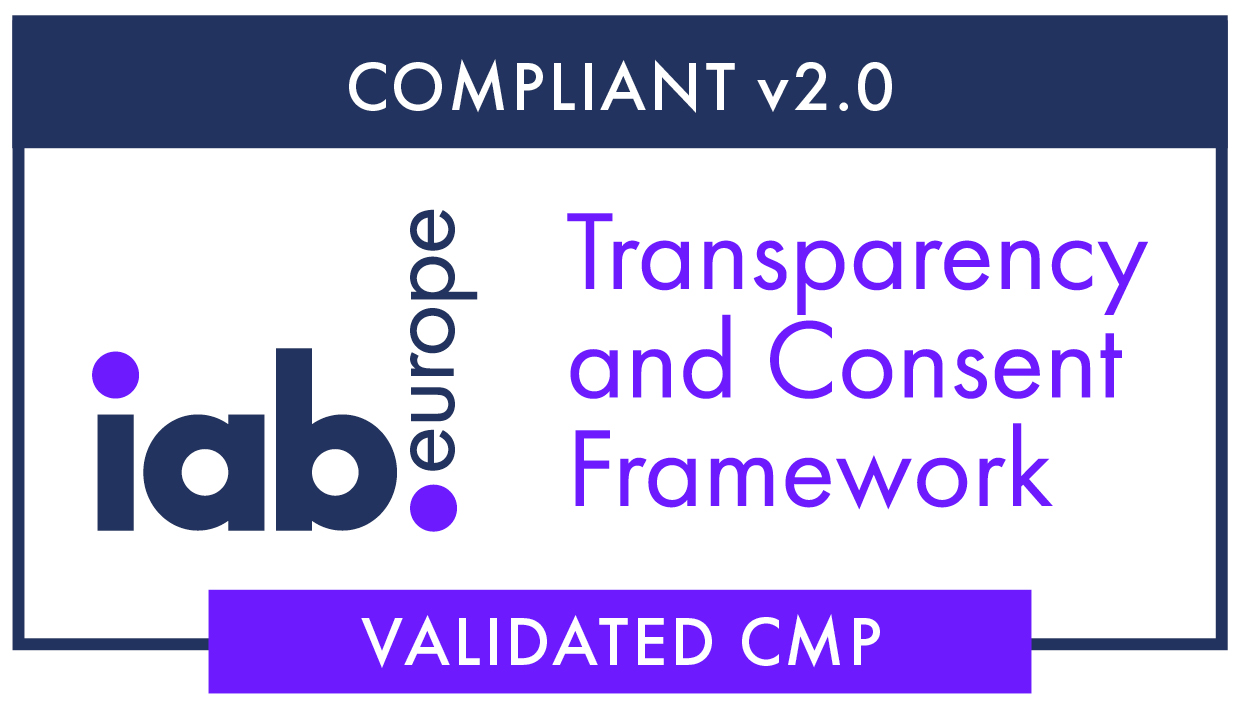 TCF badge for validated CMP