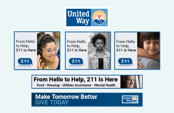 United Way PSA creatives