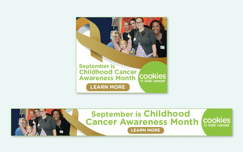 cookies for kids cancer september creatives